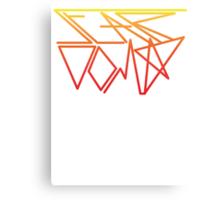 Stardom Geometry Canvas Print