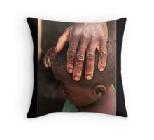 The Protector Throw Pillow