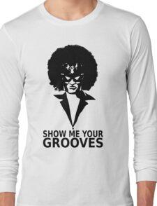 Captain falcon disco Long Sleeve T-Shirt