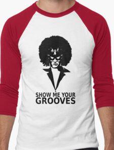 Captain falcon disco Men's Baseball ¾ T-Shirt
