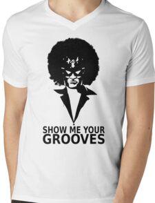 Captain falcon disco Mens V-Neck T-Shirt