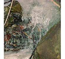 Erosion at Work Photographic Print
