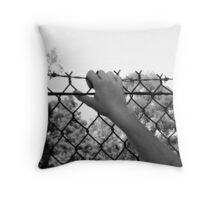 Security or Imprisonment? Throw Pillow