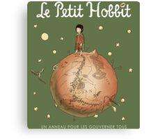 Le Petit Hobbit Canvas Print