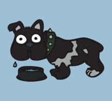 Dog Drinking Water by Ryan Houston