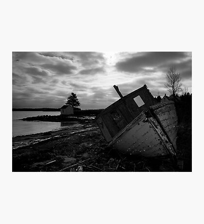 Brooding Wreck Photographic Print