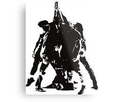 Five Against One Metal Print