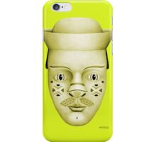 Hank on Lime Green  iPhone Case/Skin