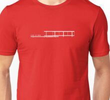 Less Is More Farnsworth House Architecture T-shirt Unisex T-Shirt