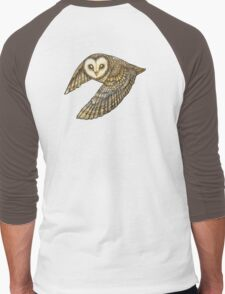 Silent Wings Men's Baseball ¾ T-Shirt