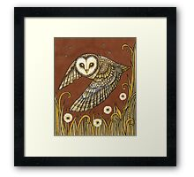 Silent Wings Framed Print