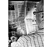 Morning Paper Photographic Print