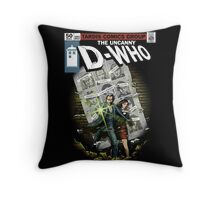 Days of Future Past Throw Pillow