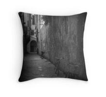 Italian Alley Throw Pillow