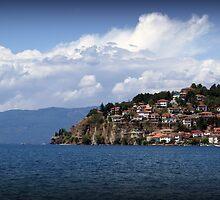 Lake Ohrid, Macedonia by Kim Doyle