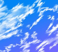 Anime Clouds Painted in Photoshop by Pneuma