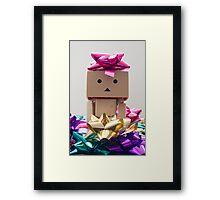 Christmas Wrapping Framed Print