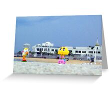A day in St. kilda Greeting Card
