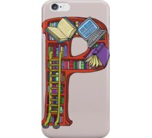 P is for Patty iPhone Case/Skin