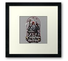 Lord of Magnetism and Wizardry Framed Print