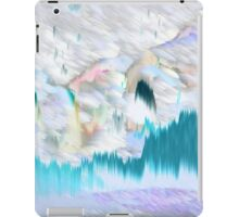 Blue Electric Landscape iPad Case/Skin