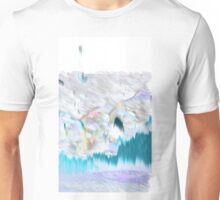 Blue Electric Landscape Unisex T-Shirt