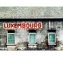 Luxembourg Photographic Print