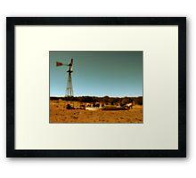 Cowboy Infinity Pool Framed Print