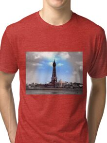 Blackpool Tower Tri-blend T-Shirt