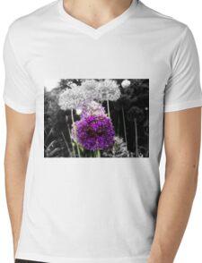 Allium  Mens V-Neck T-Shirt