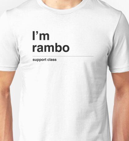 I'm rambo Unisex T-Shirt