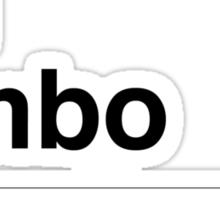 I'm rambo Sticker