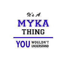 It's a MYKA thing, you wouldn't understand !! by thestarmaker
