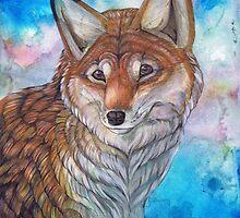 Gentle Fox by Everlyn