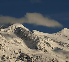 Lone Peak Wilderness - Snow-Capped by Ryan Houston