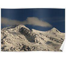Lone Peak Wilderness - Snow-Capped Poster