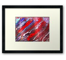 Colors of Freedom Framed Print