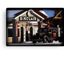 Sinclair Gas - American Fork, UT Canvas Print