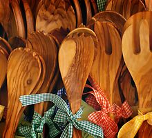Wooden Spoons by Kim Doyle