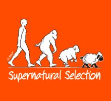 Supernatural Selection (Dark backgrounds) by atheistcards