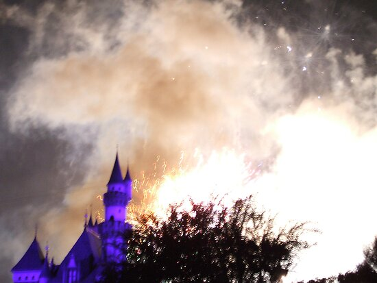 Castle Explosion by DaveM