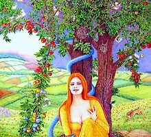 The Apple Lady Welcomes You by Jane Tripp