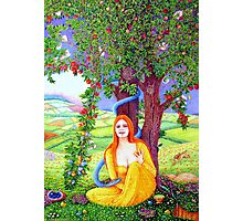 The Apple Lady Welcomes You Photographic Print
