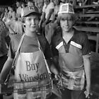 Rodeo Sales Kids by Ed Zabel