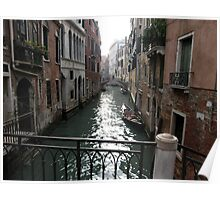 Venice Canal 1 Poster