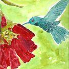 Humming Bird by Dawn B Davies-McIninch