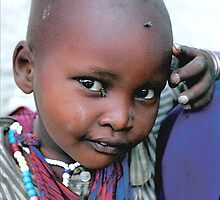 Masaii boy Tanzania by Liv Stockley