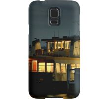 Newcastle to Stockton Ferry at Night - NSW Australia Samsung Galaxy Case/Skin