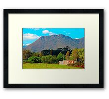 Corrugated Iron Mansion,  Wilmot ,Tasmania Australia Framed Print