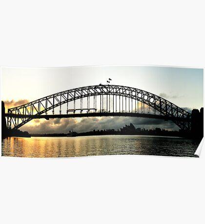 Low Cloud, Sydney Harbour  - Australia Poster